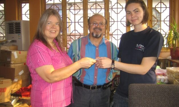 Our donation to Sichuan Relief Fund via Bookworm